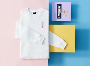 *On Hand* BTS X FILA Dynamite Collection JIN Sweatshirt + Gift + Photocard