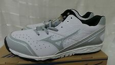Mizuno Blaze Baseball Trainer Shoes 320425.0091 White Size 15  W120
