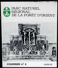 Courrier scientifique PNR Forêt d'Orient 4 1978 Géraudot Poste Montièramey NM