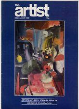 (HV961) The Artist - December 1985, Vol 100, No 12, Issue 658