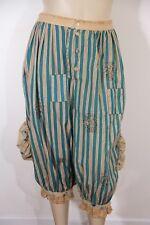 MAGNOLIA PEARL - AVIGNON WALLPAPER & BLUEBERRY JAM STRIPED PANTS