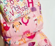 New Alphabet Twin Single Bed in a Bag Kid Comforter Pillowcase Bedding Sheet Set