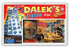 DR WHO DALEKS JIGSAW PUZZLE BOX  ARTWORK V2 NEW JUMBO FRIDGE LOCKER MAGNET