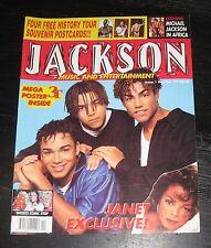 Michael Jackson 3T magazine JANET History Tour Postcards POSTER Ghosts Comic Str