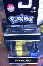 Pokemon Trainer's Choice Pikachu  2 inch  Figure in display case with ID Tag New