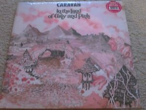 CARAVAN - IN THE LAND OF GREY AND PINK- NEW - DOUBLE LP RECORD