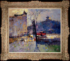 """Hand-painted Original Oil painting art knife Landscape On Canvas 20""""x24"""""""