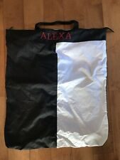 "Embroidered ""ALEXA"" Laundry Bag/Backpack"