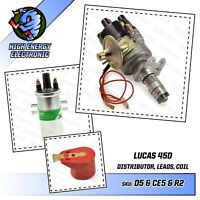 Reliant High Energy Electronic distributor DLB198 Lucas Coil Hillman Hunter