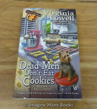 Dead Men Don't Eat Cookies by Virginia Lowell ~A Cookie Cutter Shop: Book 6~ PB