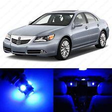11 x Ultra Blue LED Interior Lights Package For 2005 - 2012 Acura RL US Seller
