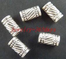 30pcs Tibetan Silver Nice Tubes Spacers 11x6mm 336