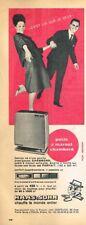 K- Publicité Advertising 1963 Le Poele à mazout Chambord Haas & Sohn