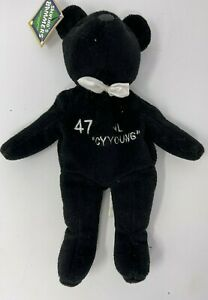 Salvino's Bammers Glavine  #47 Cy Young on the front   Beanie Bear