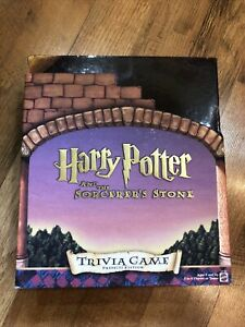 NEW Harry Potter And The Sorcerer's Stone Trivia Game Mattel NEW!
