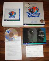 Jeu IBM PC SPACE QUEST (BIG BOX & CD-ROM version) CD remis à neuf