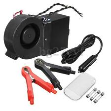 12V 500/300W Alloy Car Portable Electric Heating Heater Fan Defroster Demister