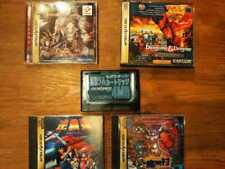 Sega Saturn Inverted Scale Other 4 Software, Expansion Ram and Psp Set