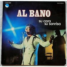 AL BANO - Su cara su sonrisa - LP VINYL 1973 MADE IN SPAIN NEAR MINT COVER VG+