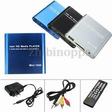 Mini HD 1080P SD USB Multi Media Player For HDMI/AV/MMC MKV AVI  Blue-ray Movies