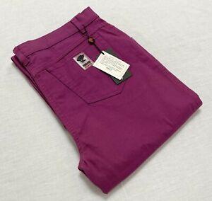 VERSACE SPORT women's pants purple size 33 NEW