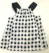 Catimini girl's polka dot sundress size 16 EU (1 year US) side zip NWT