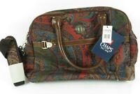 CHAPS 3 compartment Handbag Large Paisley Collection Tote Travel Bag Hyde Park