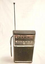 Antique Vintage General Electric AM/FM Radio Model 7-2500B