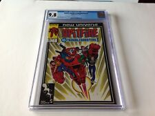 SPITFIRE AND THE TROUBLESHOOTERS 1 CGC 9.8 WHITE PGS NEW UNIVERSE MARVEL COMICS