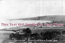 DO 856 - Birds Eye View Of Camp, Swanage, Dorset c1906 - 6x4 Photo