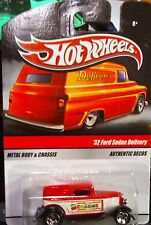2009 Hot Wheels Delivery '32 Ford Sedan Delivery Charms Red Combined Shipping