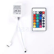 24 Caja de mando a distancia IR Key 12V Para LED RGB 3528/5050 luz de tira SA