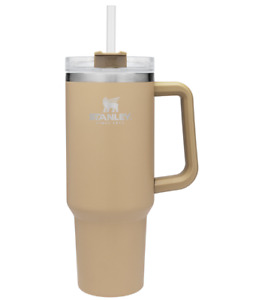 Stanley Adventure Quencher Travel Tumbler Straw Cup 40oz DRIFTWOOD  FAST SHIP!!