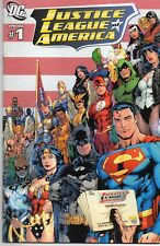 JUSTICE LEAGUE of AMERICA Special #1 Benes Cover 2009