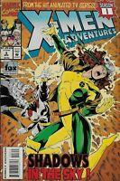 X-MEN ADVENTURES Vol 2 #3 & X-MEN THE MOVIE PREQUEL MARVEL COMICS
