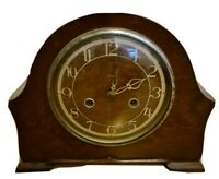 Enfield Chiming 8-day Mantle Clock Art Deco, chimes needs service