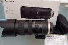 Tamron SP A025 70-200mm F/2.8 VC Di USD Lens For Nikon F - Black A025N - NICE!