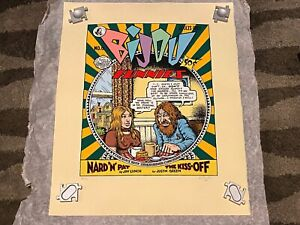 R. Crumb comic artwork signed Serigraph print Limited Edition Numbered 88