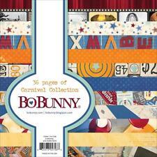 BoBunny Carnival Paper Pad Scrapbook Block 15x15 cm 36 Blatt