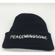 Black Hat Kpop Bigbang GD G Dragon FXXK IT Unisex Peaceminusone Knit Hat Beanie