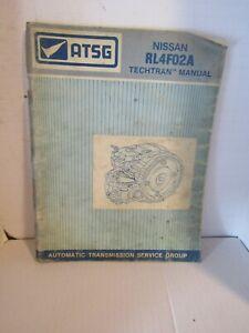 ATSG Nissan RL4F02A Techtran Manual
