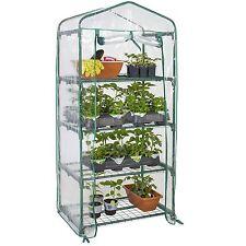 4 Shelves Green house Portable Mini Outdoor Courtyard Green House New Garden