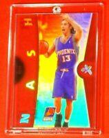 EX Steve Nash Phoenix Suns Jersey Ultra Rare Prism Refractor Acetate Insert Hot!