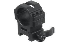UTG 30mm/2PCs Med Pro LE Grade Picatinny QD Scope Rings 25mm Wide RQ2W3156