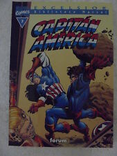 Biblioteca Marvel,Capitan America num.7 Forum