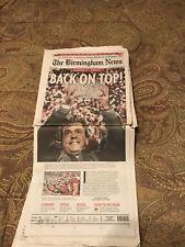Alabama 2009 national championship newspaper