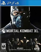 Mortal Kombat XL PS4 PlayStation 4 Brand New Fighting Game Factory Sealed