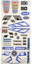 YAMAHA PW 50 GRAPHICS DECALS STICKER FULL SET