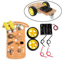 1set 4WD smart robot car chassis kits with Speed Encoder for arduino UF