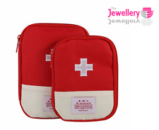 Empty First Aid Pouch Emergency Kit Medicine Storage Bag Portable polyester bag